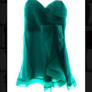 Sea Green Cocktail Dress
